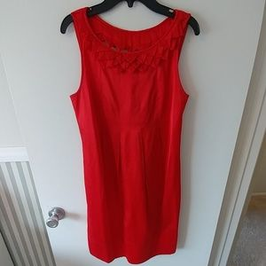 Authentic Ted Baker Silk Open Back Summer Dress